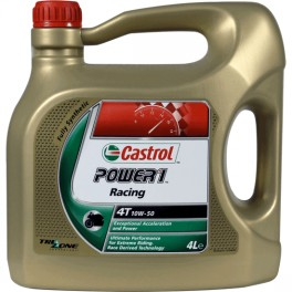 ACEITE CASTROL POWER 1 RACING 4T 4L