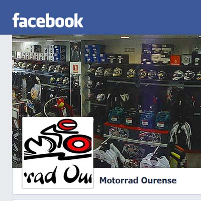 Facebook Motorrad